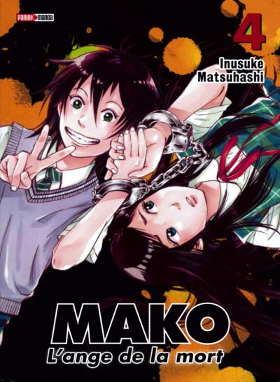 Couverture Mako l'ange de la mort tome 4