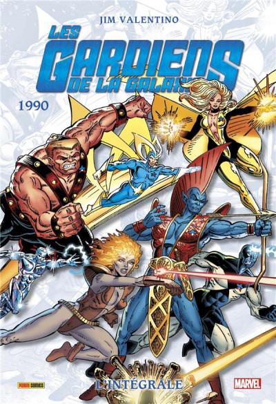 Couverture Les gardiens de la galaxie - intégrale tome 3 - 1990