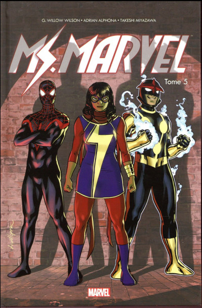 Couverture Ms. Marvel tome 5