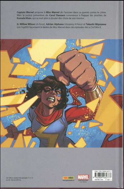 Dos Ms. Marvel tome 5