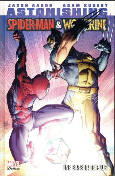 Couverture Astonishing Spider-Man/Wolverine