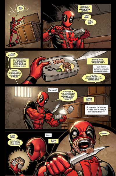 Page 0 Deadpool tome 5