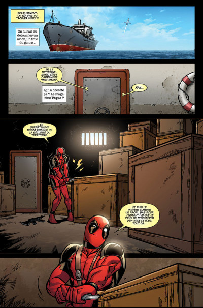 Page 9 Deadpool tome 5