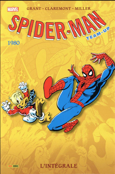 Couverture Spider-Man -Team up - intégrale tome 36 - 1980