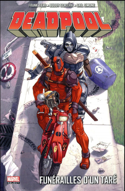 Couverture Deadpool tome 7