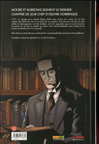Dos Providence tome 3