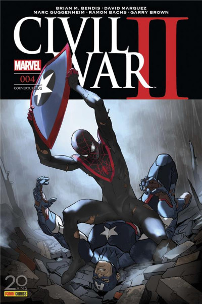Couverture Civil War II tome 4 - cover 1/2