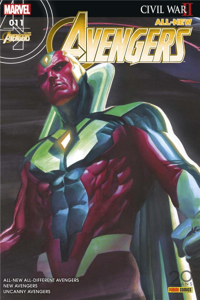 Couverture All-New Avengers tome 11