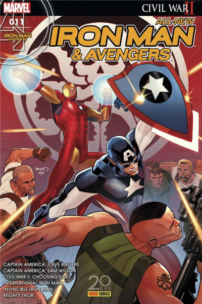 Couverture All-New Iron Man & Avengers tome 11