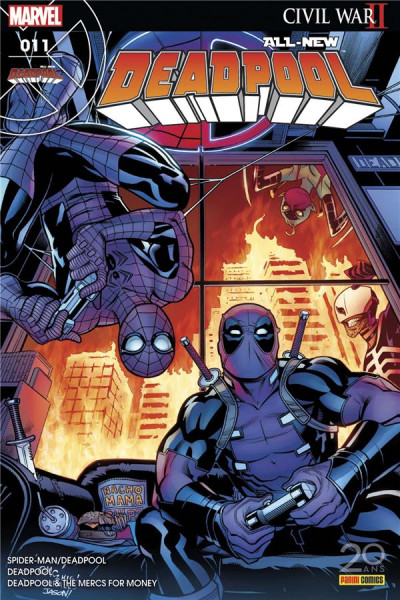 Couverture All-New Deadpool tome 11