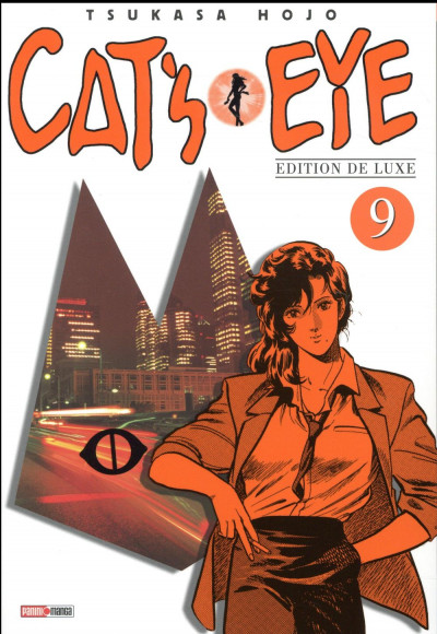 Couverture Cat's eye - édition 2017 tome 9