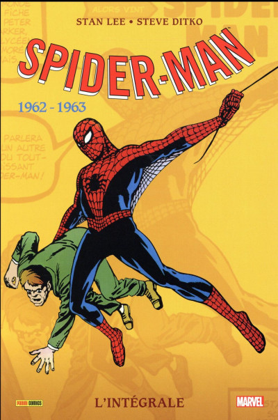 Couverture Amazing Spider-Man - intégrale tome 1
