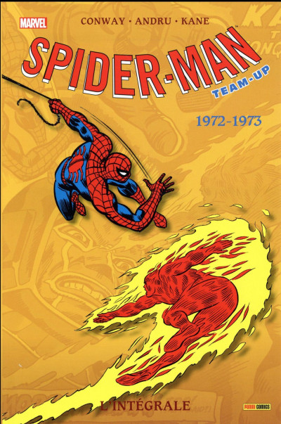 Couverture Spider-Man Team up - intégrale tome 23