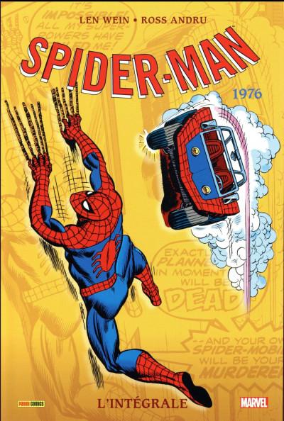 Couverture Spider-Man - intégrale tome 14 - 1976 (nouvelle édition)