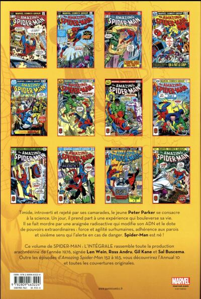 Dos Spider-Man - intégrale tome 14 - 1976 (nouvelle édition)