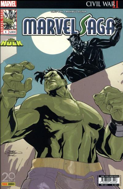 Couverture Marvel Saga tome 6