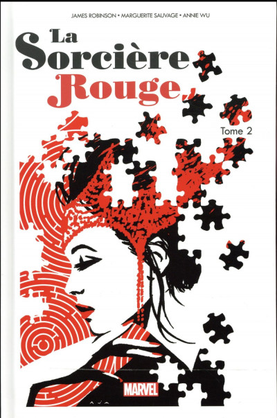 Couverture La sorcière rouge tome 2