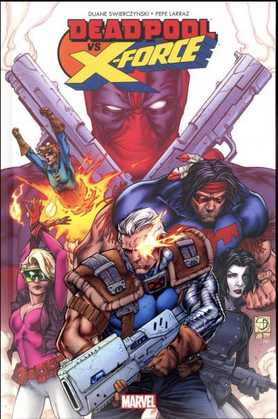 Couverture Deadpool VS X-Force