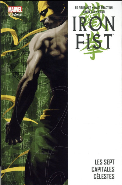 Couverture Iron Fist - deluxe tome 2