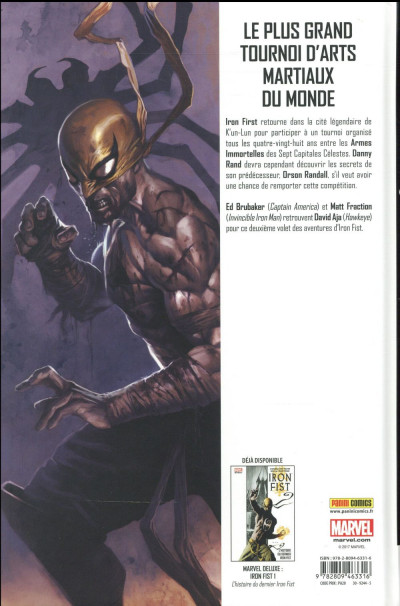 Dos Iron Fist - deluxe tome 2