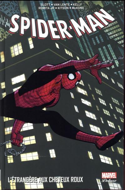 Couverture Spider-Man - L'étrangère aux cheveux roux