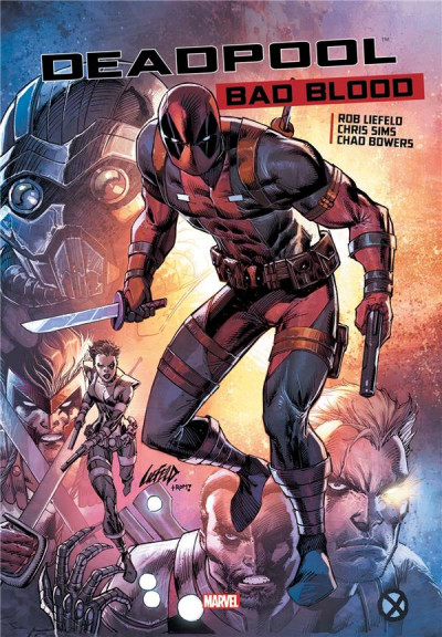 Couverture Deadpool bad blood
