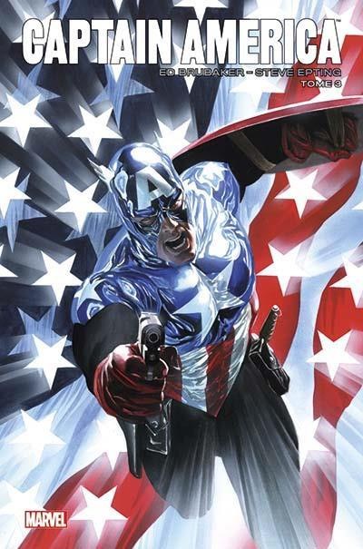 Couverture Captain America par Brubaker et Epting tome 3