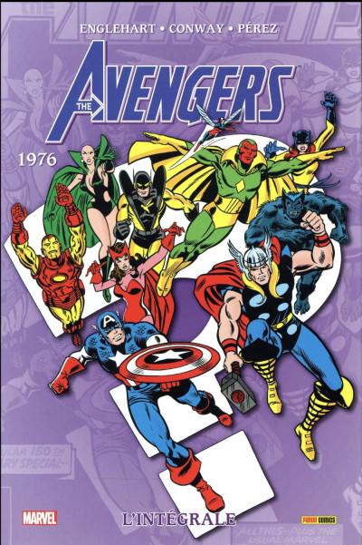 Couverture Avengers - intégrale tome 13 - 1976