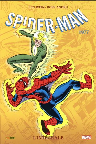 Couverture Amazing Spider-Man - intégrale tome 15 - 1977 (nouvelle édition)