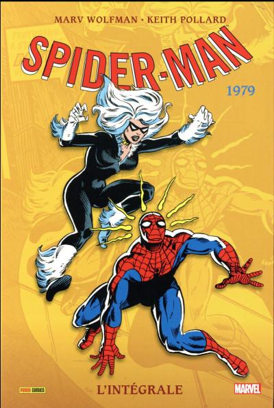 Couverture Amazing Spider-Man - intégrale tome 19 - 1979 (nouvelle édition)