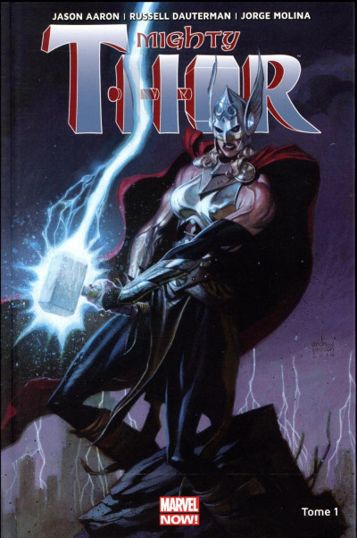 Couverture Mighty Thor tome 1