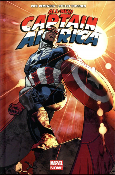 Couverture All-New Captain America