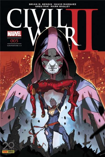 Couverture Civil war II tome 5 - cover 1/2