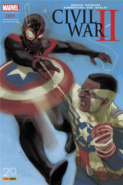 Couverture Civil war II tome 5 - cover 2/2