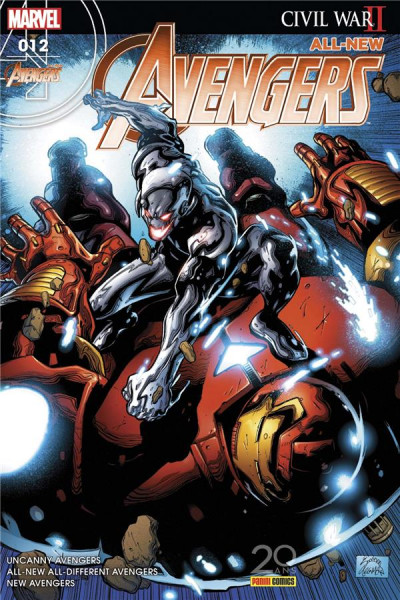 Couverture All-New Avengers tome 12