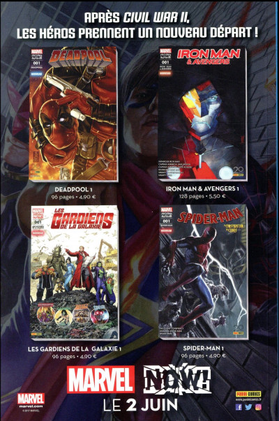 Dos All-New Avengers HS tome 4