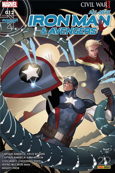 Couverture All-New Iron Man & Avengers tome 12