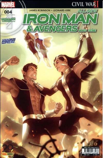 Couverture All-New Iron Man & Avengers HS tome  4