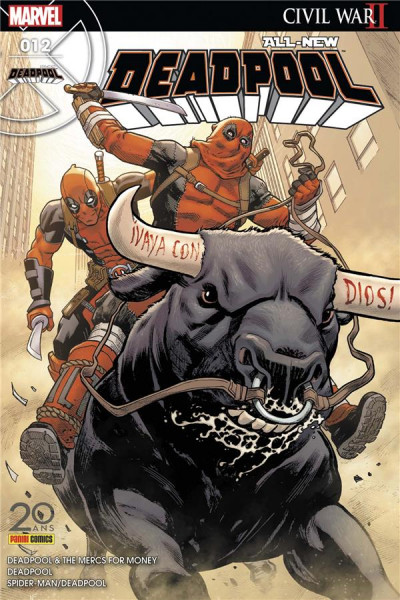 Couverture All-New Deadpool tome 12
