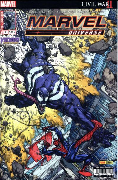 Couverture Marvel universe tome 8