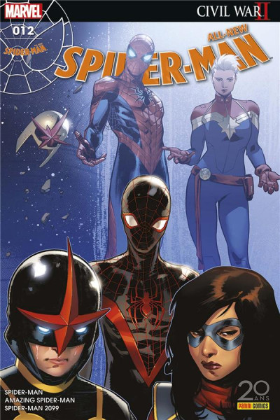 Couverture All-New Spider-Man tome 12