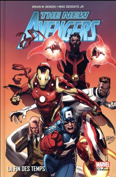 Couverture New Avengers - L'âge des héros tome 3