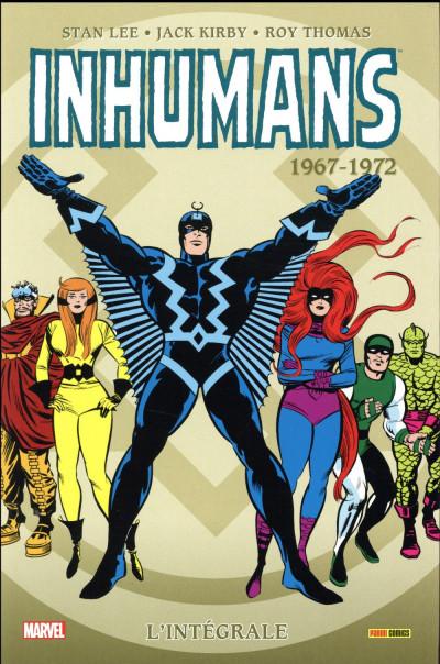 Couverture Inhumans - intégrale tome 1