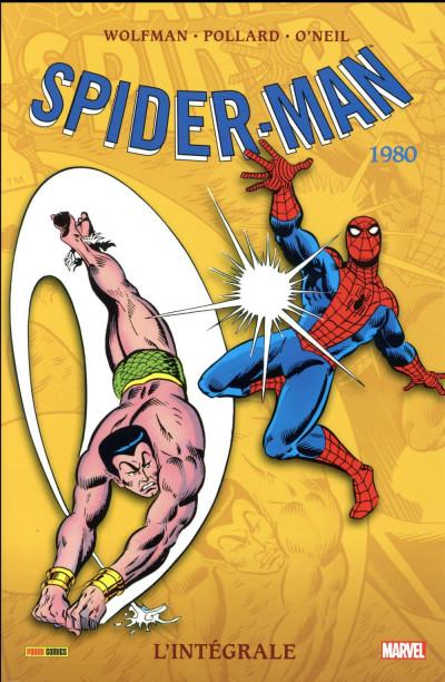 Couverture Amazing Spider-Man - intégrale tome 21 - nouvelle édition