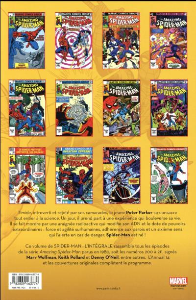 Dos Amazing Spider-Man - intégrale tome 21 - nouvelle édition