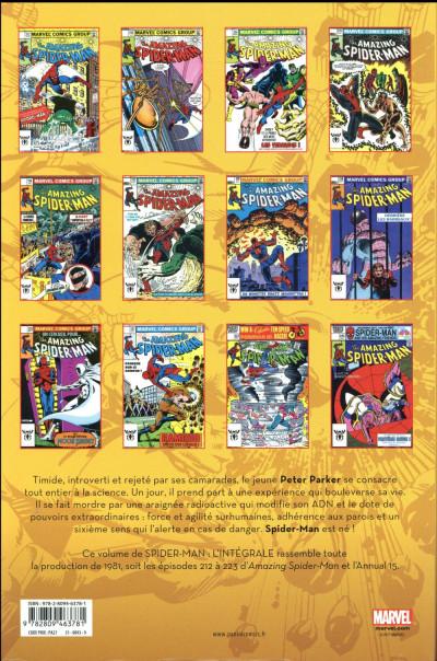 Dos Amazing Spider-Man - intégrale tome 25