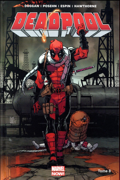 Couverture Deadpool tome 8