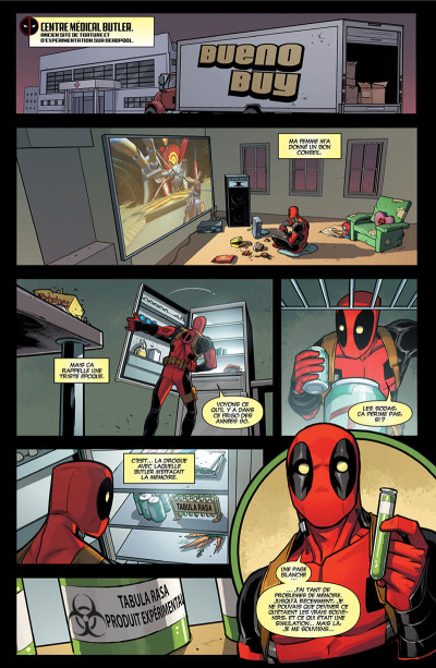 Page 0 Deadpool tome 8