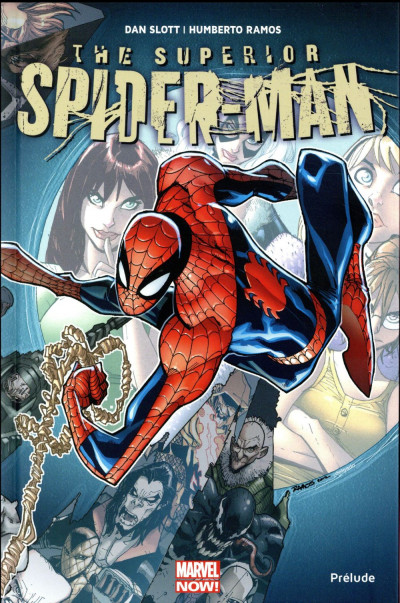 Couverture Superior Spider-Man tome 0 - prélude
