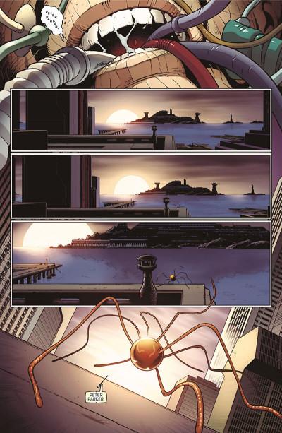 Page 0 Superior Spider-Man tome 0 - prélude